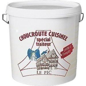 Choucroute cuisinée 10 kg - Charcuterie Traiteur - Promocash Clermont Ferrand
