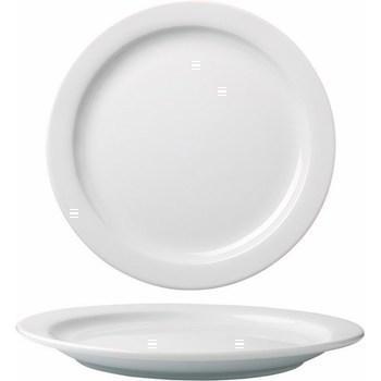 Assiette plate Clery 23 cm 050472 - Bazar - Promocash Périgueux