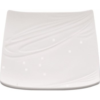 Assiette carrée Food'JI 260 x 260 mm - Bazar - Promocash Nancy