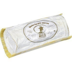 Bûche pur chèvre affiné 1 kg - Crèmerie - Promocash Brive