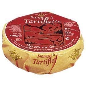Fromage à tartiflette 500 g - Crèmerie - Promocash Bordeaux