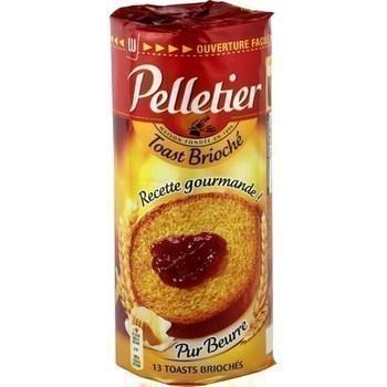 Toasts briochés pur beurre x13 - Epicerie Sucrée - Promocash Albi