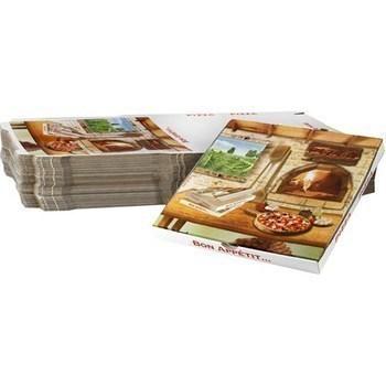 Boites à pizza América 29 H 3,5 cm x100 - Bazar - Promocash Castres