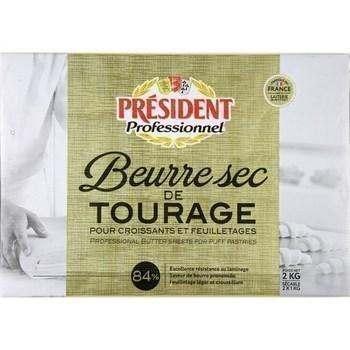 2KG BEURRE DE TOURAGE 84% PLAQ - Crèmerie - Promocash Périgueux