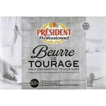 2 KG BEURRE DE TOURAGE 82% PL - Crèmerie - Promocash Périgueux