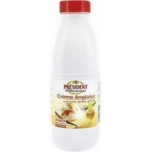 Crème anglaise à la vanille bourbon 1 l - Crèmerie - Promocash Montceau Les Mines
