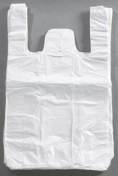 Sacs bretelles blancs 26x12x45 cm -  - Promocash Nantes