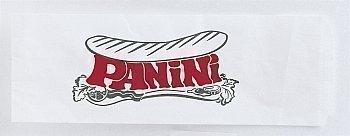 Sacs blancs imprimés 'Panini' PAIN615 120x350 mm - Bazar - Promocash Bourgoin