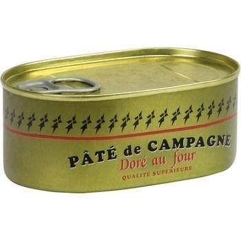 Pâté de campagne doré au four 200 g - Epicerie Salée - Promocash LA FARLEDE