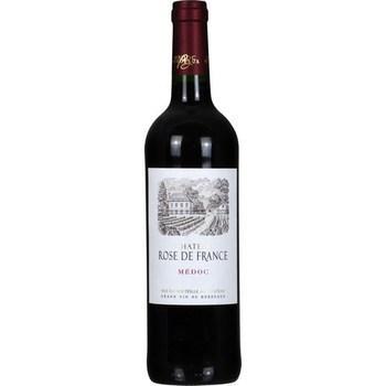 Médoc Château Rose de France 12,5° 75 cl - Vins - champagnes - Promocash Saint Brieuc