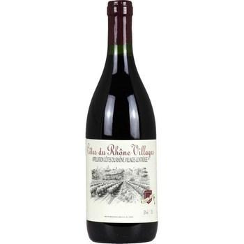 Côtes du Rhône Villages 13° 75 cl - Vins - champagnes - Promocash Gap