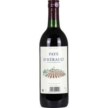 Vin de pays d'Hérault 11,5° 75 cl - Vins - champagnes - Promocash Castres