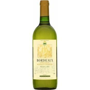 Bordeaux blanc sec Les Petites Caves 12° 75 cl - Vins - champagnes - Promocash Antony