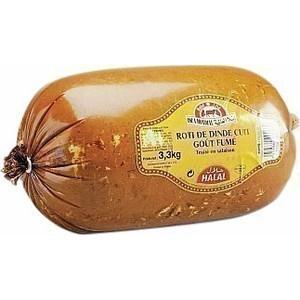 Rôti de dinde cuit goût fumé halal - le kg - Charcuterie Traiteur - Promocash Amiens