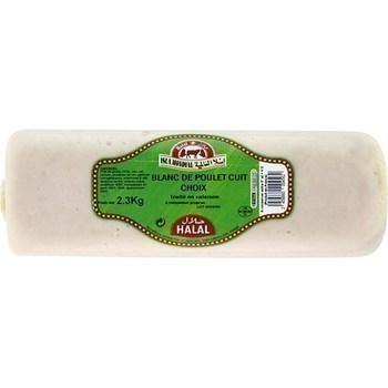 Blanc de poulet cuit choix traité en salaison halal - Charcuterie Traiteur - Promocash LA FARLEDE