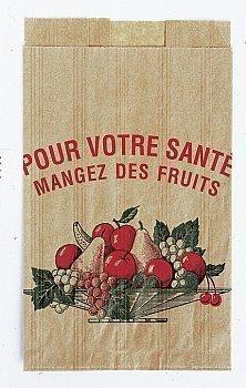 Sacs fruits 1 kg 14x9x22 cm x1000 - Bazar - Promocash Annemasse