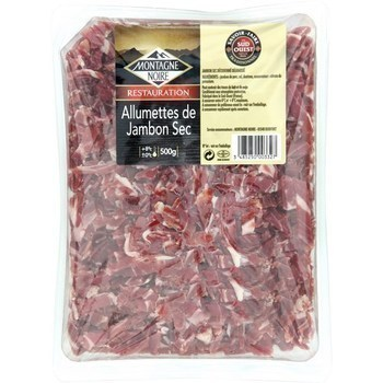 Allumettes de jambon sec 500 g - Charcuterie Traiteur - Promocash Annecy