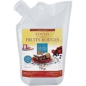 Coulis extra 80% fruit rouge 750 g -  - Promocash Aurillac
