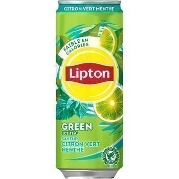 Boisson Green Ice Tea saveur citron vert menthe 33 cl - Brasserie - Promocash Lille
