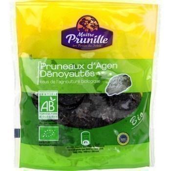 Pruneaux d'Agen dénoyautés bio 250 g - Fruits et légumes - Promocash Toulon