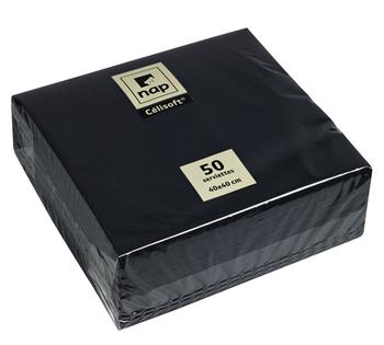 Serviettes ébène 50x40x40 cm - Bazar - Promocash Bordeaux