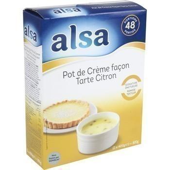 Pot de Crème façon Tarte Citron 2x400 g - Epicerie Sucrée - Promocash LA FARLEDE