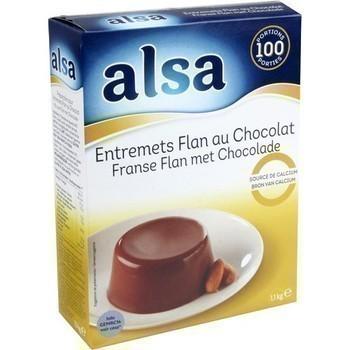 Entremets flan au chocolat 1,1 kg - Epicerie Sucrée - Promocash ALENCON