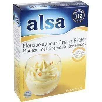 Mousse saveur Crème Brûlée 2x500 g - Epicerie Sucrée - Promocash Albi
