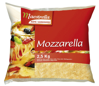 2,5kg mozza.rapee maestrella - Crèmerie - Promocash Béthune