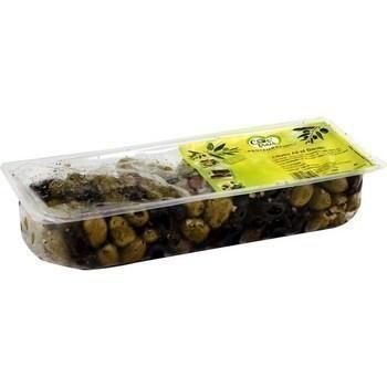 1KG OLIVES DENOY.AIL/BASILIC - Fruits et légumes - Promocash Bourgoin