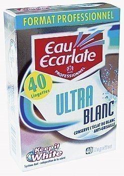 Lingettes Ultra Blanc - Professionnel - Hygiène droguerie parfumerie - Promocash Saint Malo