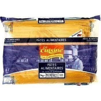 Pâtes alimentaires Spaghetti 3 kg - Epicerie Salée - Promocash Toulon