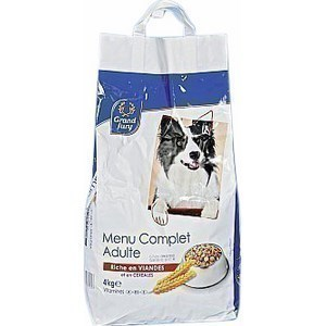 Croquettes pour chien viande/céréales - le sac de 4 kg - Epicerie Salée - Promocash Brive