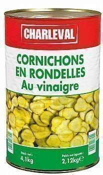 Cornichons en rondelles au vinaigre 5/1 - Epicerie Salée - Promocash Millau