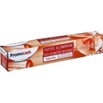 Papier aluminium 200x0,45 m - Hygiène droguerie parfumerie - Promocash Castres
