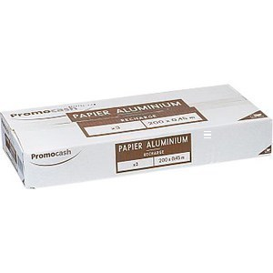 Film aluminium 200 mx45 cm x 3 - Hygiène droguerie parfumerie - Promocash Bordeaux