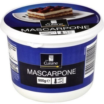Mascarpone 500 g - Crèmerie - Promocash Amiens