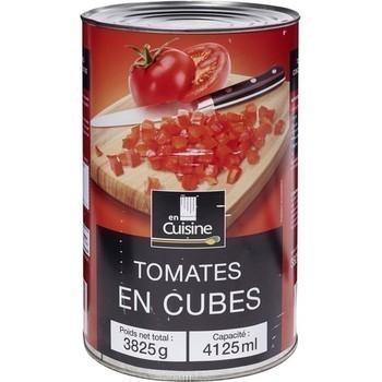 Tomates en cubes 3825 g - Epicerie Salée - Promocash Antony