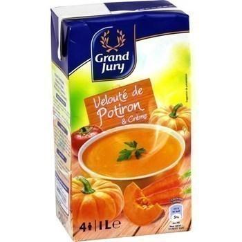 Velouté de potiron & crème 1 l - Epicerie Salée - Promocash Amiens
