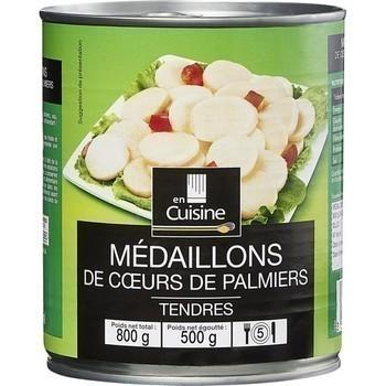 Coeurs de palmiers médaillons 500 g - Epicerie Salée - Promocash Bourgoin