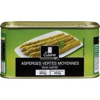 Asperges vertes moyennes 455 g - Epicerie Salée - Promocash Chambéry