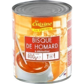 Bisque de homard à dédoubler 800 g - Epicerie Salée - Promocash Millau