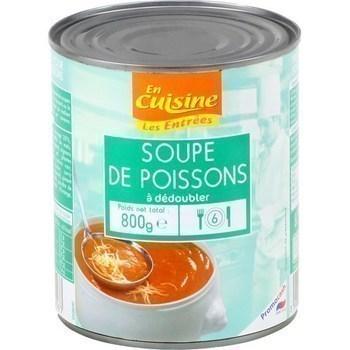 Soupe de poissons à dédoubler 800 g - Epicerie Salée - Promocash Millau