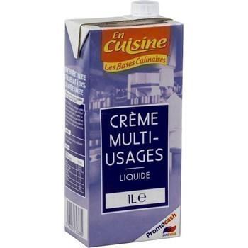 Crème multi-usage liquide 1 l - Crèmerie - Promocash Millau