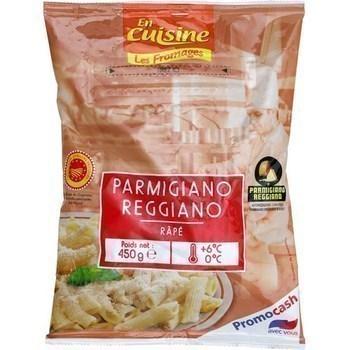 Parmigiano Reggiano AOP râpé 450 g - Crèmerie - Promocash LA FARLEDE