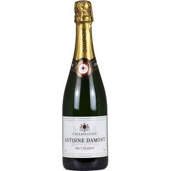Champagne brut Réserve Antoine Damont 12° 75 cl - Vins - champagnes - Promocash Forbach