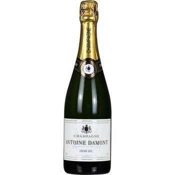 Champagne demi-sec Antoine Damont 12° 75 cl - Vins - champagnes - Promocash Albi