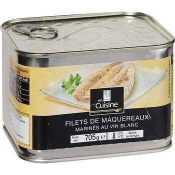 Filets de maquereaux marinés au vin blanc 705 g - Epicerie Salée - Promocash Albi