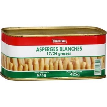Asperges blanches 17/24 grosses - Epicerie Salée - Promocash Albi
