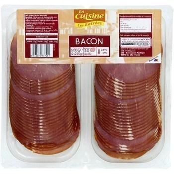 Filet de bacon en tranches - Les Entrées - Charcuterie Traiteur - Promocash Gap